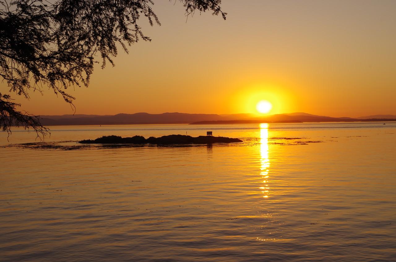 View from San Juan Island  Photographer's Name: Christian Smith