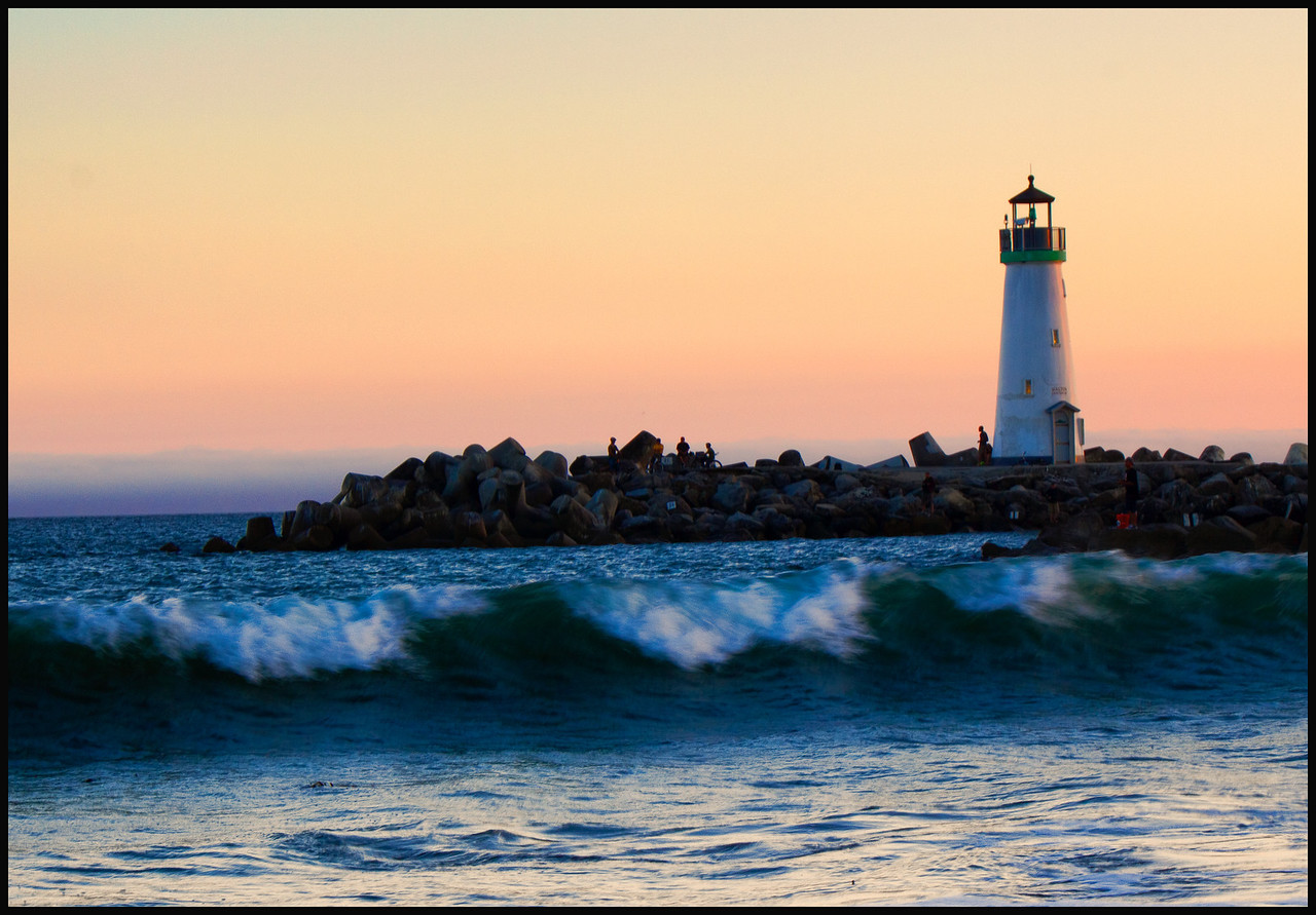Sunset over Santa Cruz Lighthouse  Photographer's Name: Mary Wang