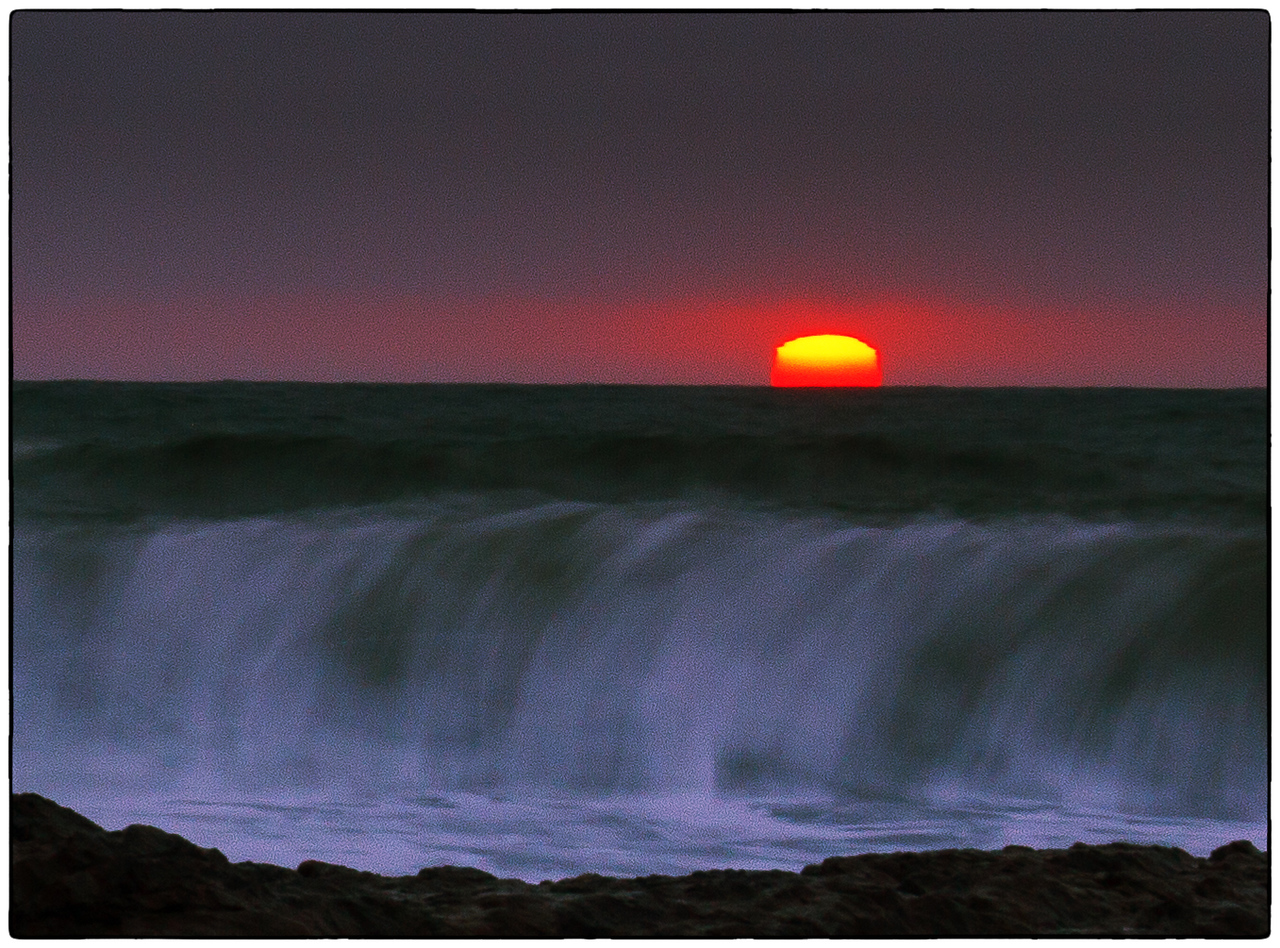 Half Moon Bay Beach Sunset  Photographer's Name: Mary Wang