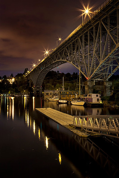 Aurora Bridge<br /> <br /> Photographer's Name: Frank Dobrushken