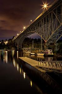 Aurora Bridge  Photographer's Name: Frank Dobrushken