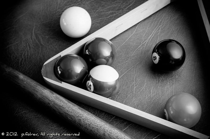 Pool - This is mainly a lighting experiment, and not very unique. I'm interrested by any constructive criticism. Thanks!<br /> <br /> Photographer's Name: Pierre Folrev