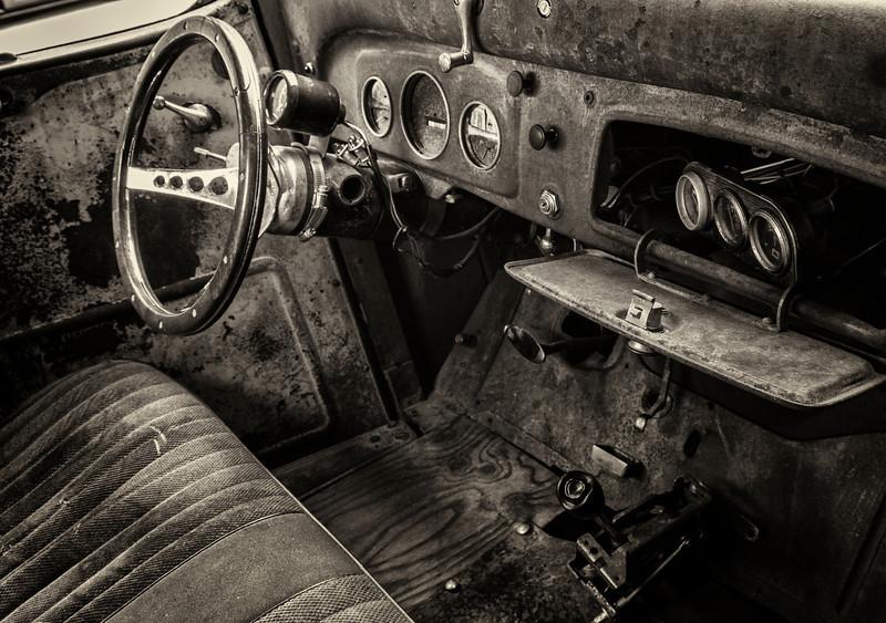 Old car<br /> <br /> Photographer's Name: Frank Dobrushken