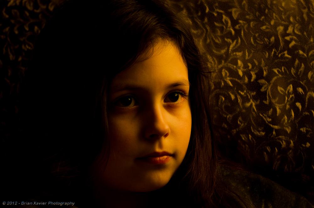 Side Light on Anna  Photographer's Name: Brian Xavier