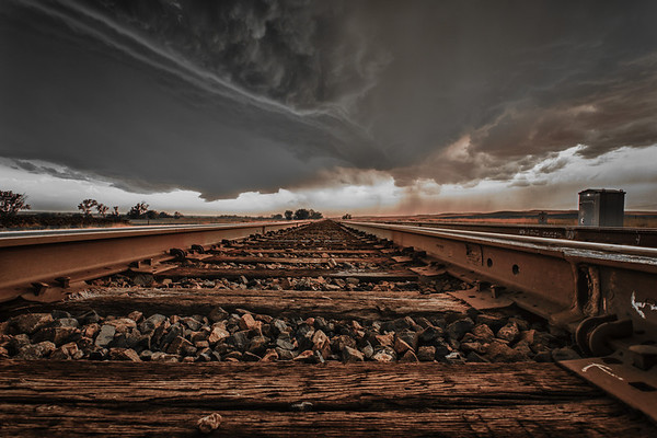 There's a storm coming...  Photographer's Name: Chris Evans