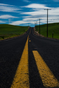 Path to rolling hills  Photographer's Name: Nitin Kansal