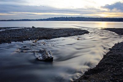 Denny Creek sunset  Photographer's Name: Tom Chwojko-Frank