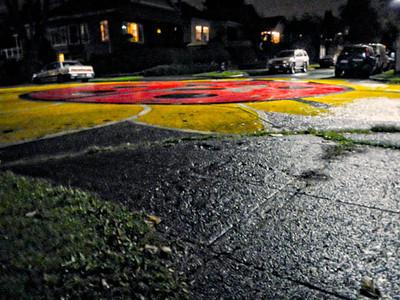 Street Art at Night  Photographer's Name: Greg Rubstello