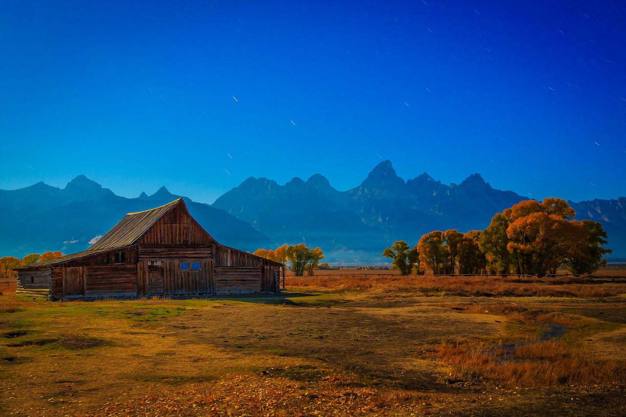 Autumn Morning - Grand Tetons  Photographer's Name: Chris Evans