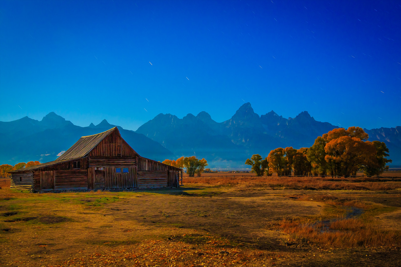 Autumn Morning - Grand Tetons  Photographer's Name: Chris Evans