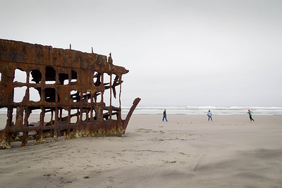 Cool September morning on the Oregon coast  Photographer's Name: Julie Mahieu