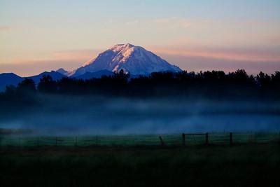 Morning at Rainier  Photographer's Name: Scott  Woods