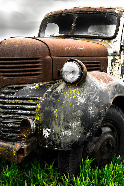 A late 40's or early 50's Dodge pickup<br /> <br /> Photographer's Name: Greg Marsh