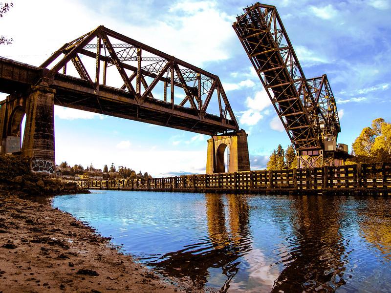 railroad bridge at ballard locks<br /> <br /> Photographer's Name: Dustin Tuttle
