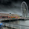 "Stormy Seattle Wheel   <a href=""http://www.erinlynnseattle.com"">http://www.erinlynnseattle.com</a><br /> <br /> Photographer's Name: Erin Lynn"