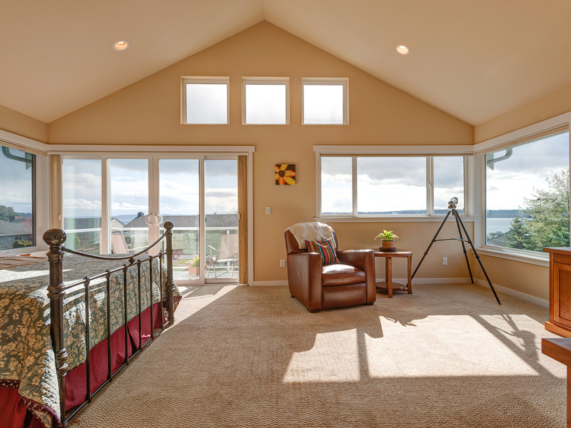 seattle interiors real estate photographer master suite