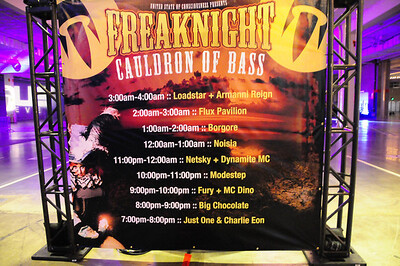 Freak Night October 26, 2012