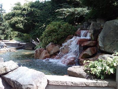 Waterfalls at Microsoft.