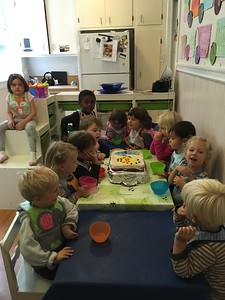 Gouter (snack) time at preschool