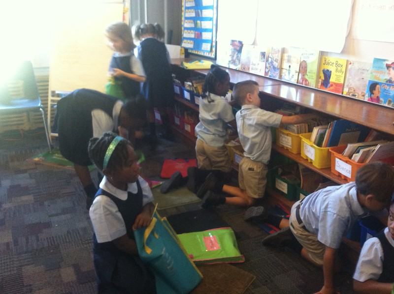Classroom Library Grand Opening