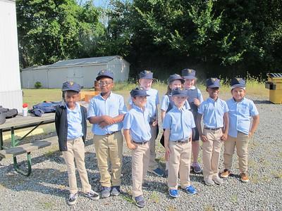 Second Grade State Police Boat Ride