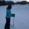 Sarah  First time on ski's  Loon Mountain  12/2017