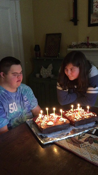 Jacob and Sarah Family birthday party  jan 2018