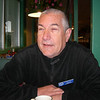 New member ,Roger Vandervert, at breakfast. He volunteered to ride sweep. Thanks, Roger!
