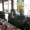 Roger Rapp, Lee Fulton & Gene Austin wait fro breakfast.