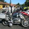 Bob Berner riding his new GS1200GSW. Congratulations, Bob!