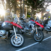 A small group of riders met at Sharry's in San Bruno and among the rides was anew GS1200GSW