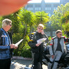 Steve Kesinger, Cliff Dunn & Roger Rapp sporting his new riding suit the BMW Rallye v.4.0 2013.