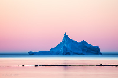 Twilight Iceberg