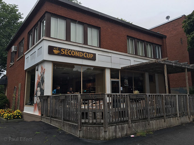 Second Cup Coffee Shop at 7345 Sherbrooke O., Montreal, QC