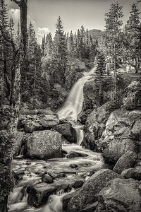 Alberta Falls - Colorado Rockies