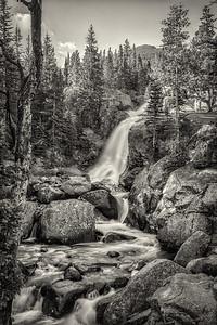 Alberta Falls - Colorado Rockies
