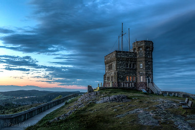 Cabot tower on top of Signal Hill in St John's, Newfoundland