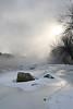 Steamy river, Monticello MN