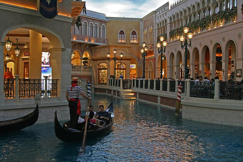 Gondola ride, Venetian, Las Vegas