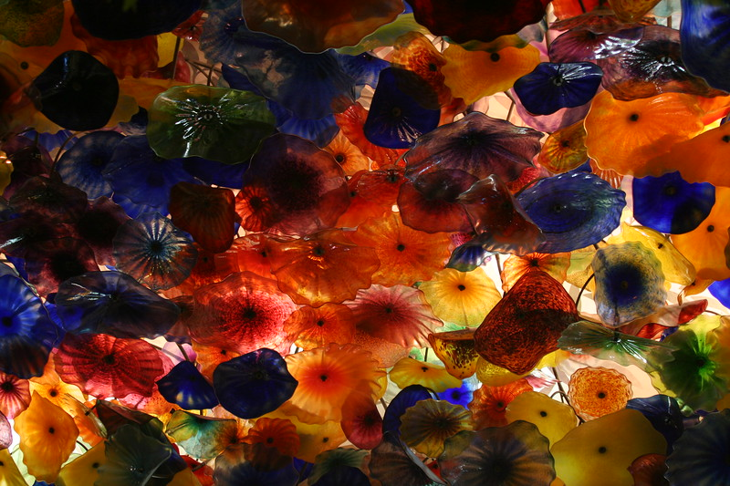 Ceiling flowers, Bellagio, Las Vegas