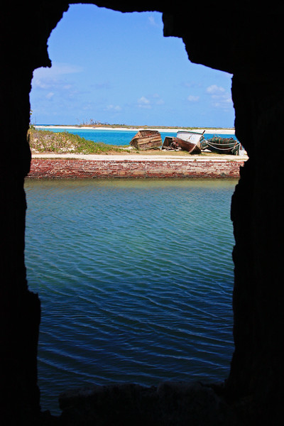A view through a window - Fort Jefferson