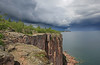 Wall cloud from Palisade Head