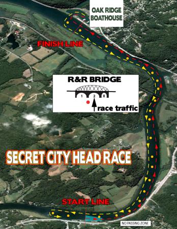 Secret City Head Race 2016