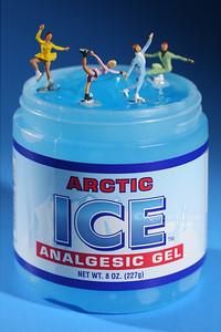 Skaing on Anagelsic Ice