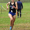 Saratoga Springs senior Kelsey Chmiel heads to her fourth straight Section 2 Class A title, leading the field Friday morning at Saratoga Spa State Park.