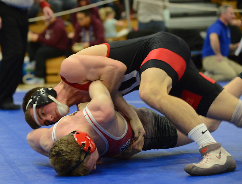Tania Barricklo-Daily Freeman   Onteora's Zach Chartrand Port Jervis' Joe Mahaney145