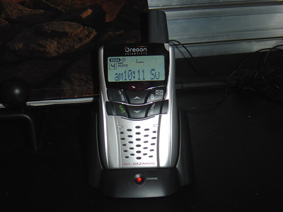 Oregon scientific Weather radio WR 602