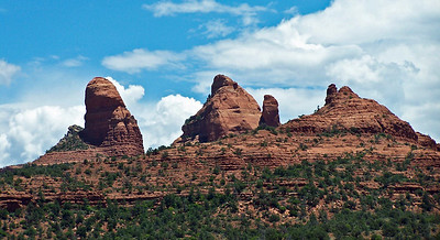 Rock Formations in Sedona