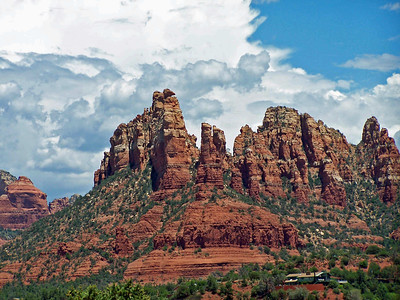 Sedona Red Rocks Clouds