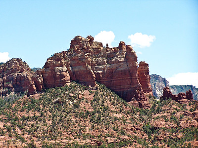 Sedona Rugged Rocks